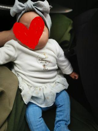 Baby tutu top