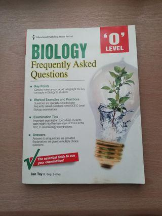 Biology Frequently Asked Question 'O' Level