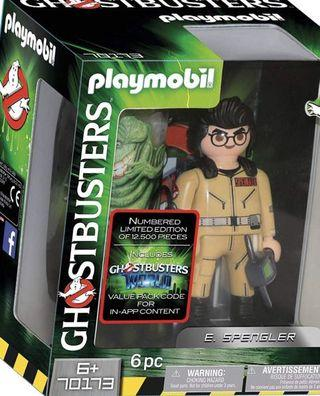 Playmobil Ghostbusters Collector's Edition 6-Inch Egon Spengler Action Figure ( 70173 )