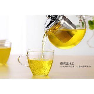 Borosilicate Tea Pot Set with 2 tea cups -Best seller