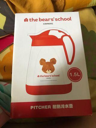 The Bear School 耐熱冷水壺