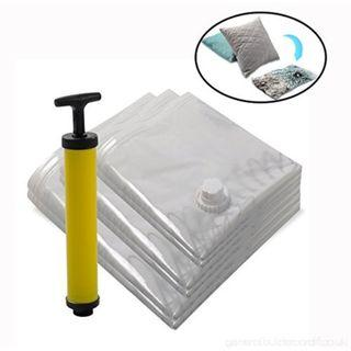 Vacuum Travel Compressed Bag with S,M,L Size
