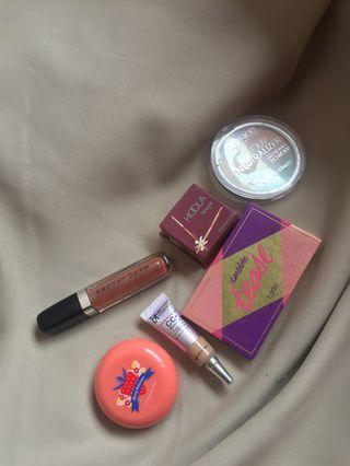 Makeup Bundle! Sephora : Marc Jacobs, Benefit Hoola, TARTE Tease Tartlette, IT Cosmetics, Etude House, Catrice #CarousellBetter