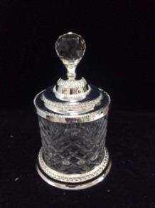 Canister with Silver Base (Rent)
