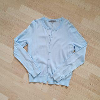 Uniqlo - Baby Blue Knit Cardigan