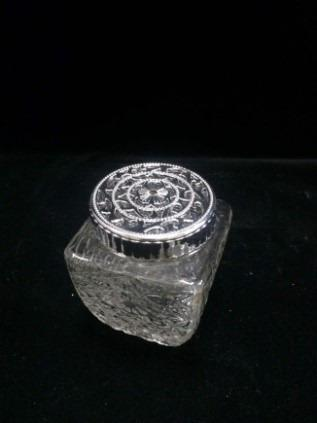 Silver Square Canister