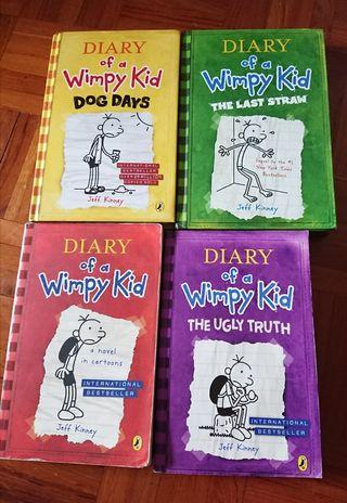 Diary of a Vimpy Kids (新淨其中2本 hard cover)