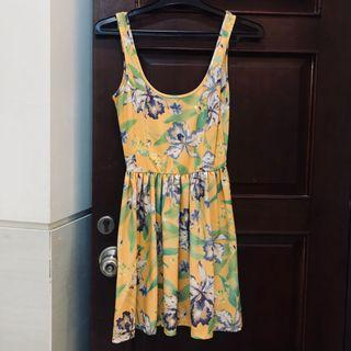 Preloved ZARA floral summer dress