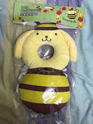 Sanrio布甸狗兒童護頸背枕
