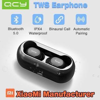 QCY TWS T1 Bluetooth 5.0 earpiece / earphones / earbuds