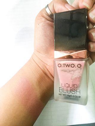 O.TWO.O Liquid Blush shade 01