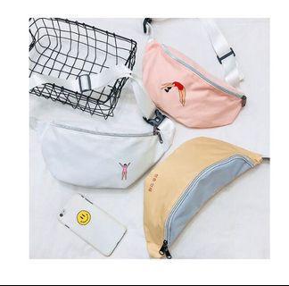 Korean Waist Bag / Korea Tas Pinggang
