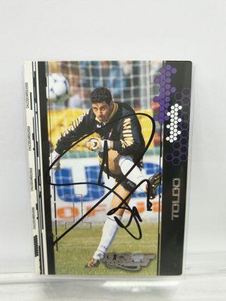 🚚 Francesco Toldo Card Signed