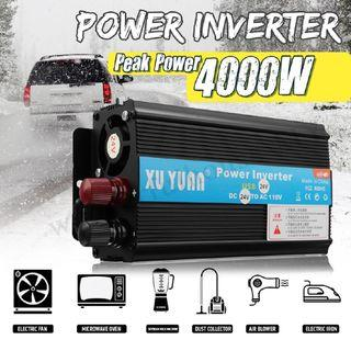 4000W DC12 / 24V至AC110V / 220V太陽能逆變器