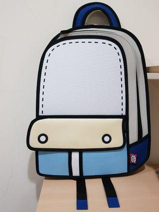 🚚 jumpfrompaper後背包 2D後背包 冒險後背包