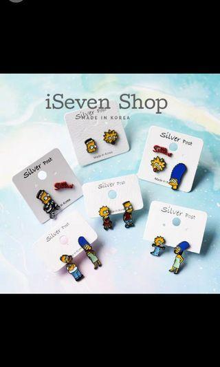 🚚 Simpson Earring
