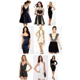 🚚 Any 5 for $25 (brand new dresses)