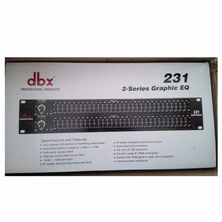 New dbx 231 Professional Graphic Equalizer Sale