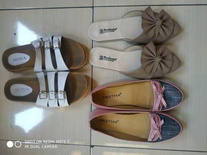#maudandan flatshoes free sandal santai