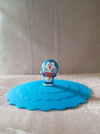 Silicon Doraemon blue cup cover