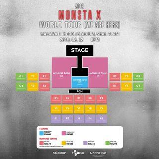MONSTA X PURPLE 5 ZONE