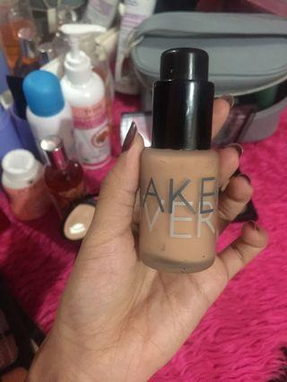 Make Over Foundation pink shade 02