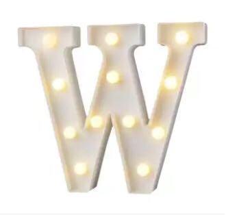 Large Alphabet Symbol LED Light Marquee Letter Lights