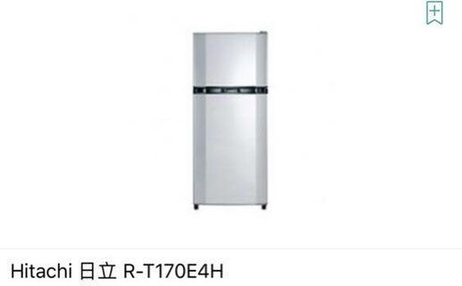 Hitachi兩門雪櫃