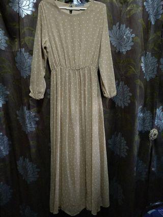 🚚 CLEARANCE $10 POPLOOK POLKADOTS DRESS