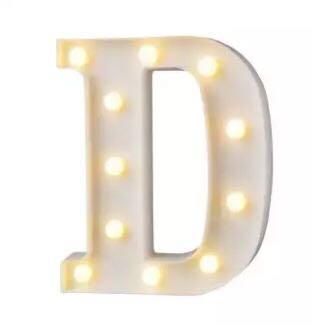 Alphabet LED Wedding LightBox