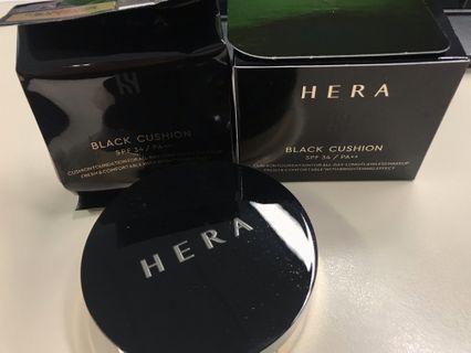Hera Black Cushion no.21 1+1