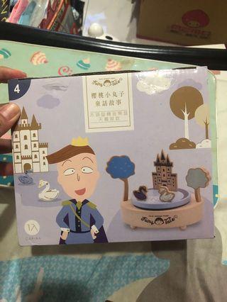 7-11櫻桃小丸子音樂盒(天鵝湖款)