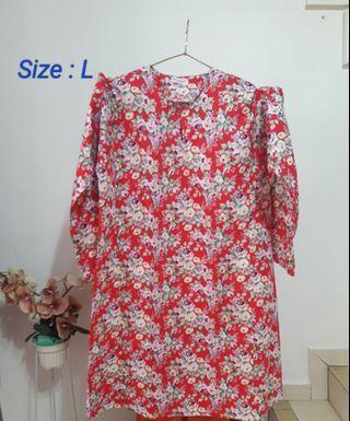 #MGAG101 Baju Kurung Pahang Cotton