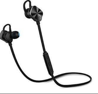 🚚 (E2464) Wireless Headphone, [Updated Version] Mpow Coach Bluetooth v4.1 Wireless Stereo Headphone Hands-free Calling earphone Headset for iPhone 7 6 s plus -Black