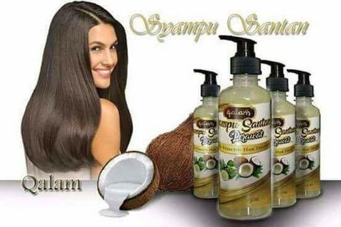 Shampoo Santan Rawatan Rambut Qalam Hair Syampu