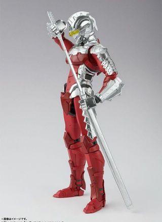 預訂 9月 行版 魂 SHF S.H.Figuarts Ultraman Suit Ver 7 the Animation 咸蛋超人