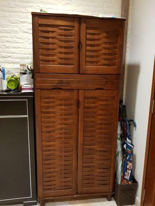 Shoes cabinet (2 units for RM90)