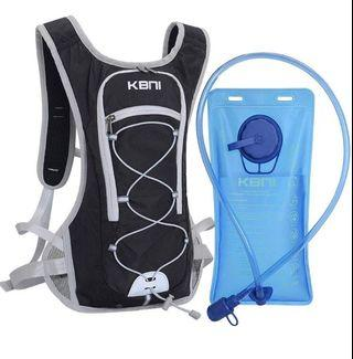 🚚 KBNI Hydration Backpack with 2 Litre (68 Ounce) Water Bladder, Lightweight, Suitable for Outdoor Hiking Running Cycling Camping Climbing Sports Perfect for Men Women & Kids