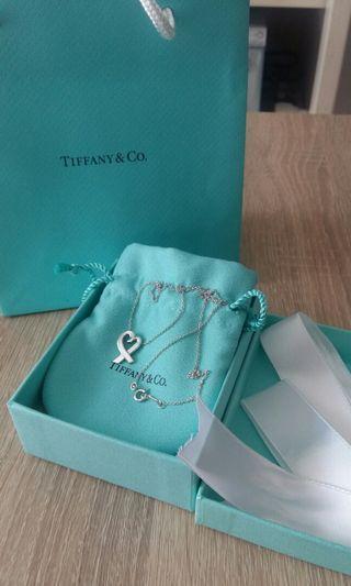 Tiffany Loving Heart 純銀頸鏈