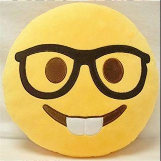 (LOOKING FOR) Nerd Emoji Pillow/Cushion