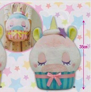 unicorn cupcake plush