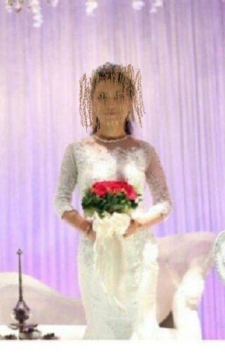Azura couture White dress (Sanding)