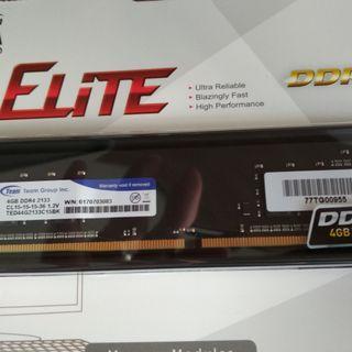TEAM 4 GB DDR4 2133 RAM