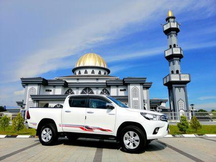 CONTINUE LOAN HILUX G SPEC 2019
