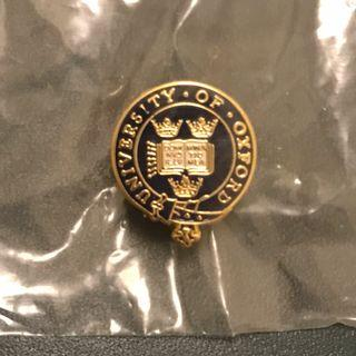 Official University of Oxford enamel lapel pin badge