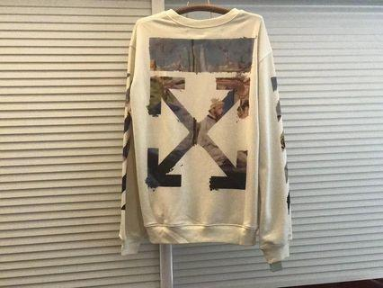 🔥 Off White Graphic Arrow Sweater🔥