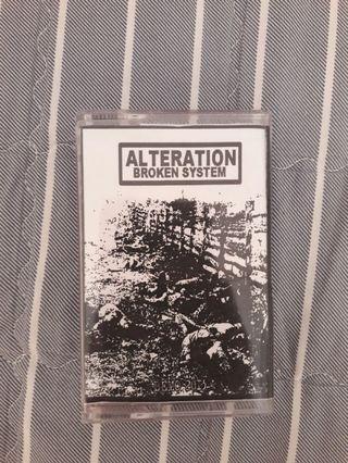 Alteration broken system tape