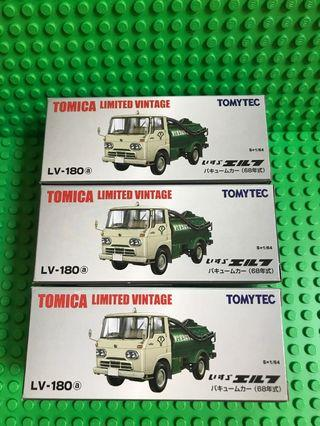 Tomytec LV-180(a) ISUZU ELF VACUUM CAR