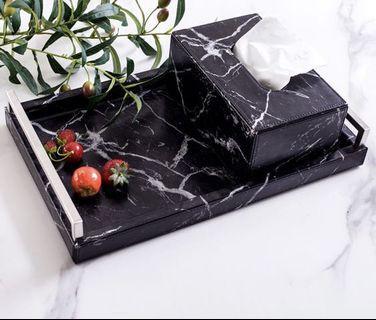 MARBLE GRAIN NORDIC TISSUE BOX