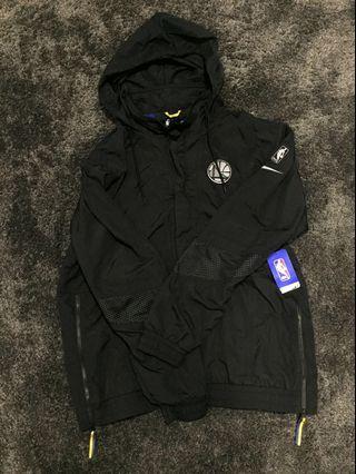 (PRICE REDUCED) Nike NBA Warrior black hooded jacket